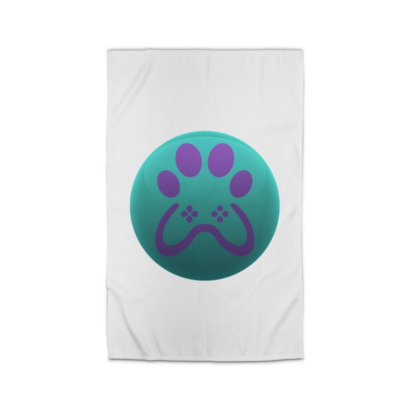 Controller Paw Logo Home Rug by Respawnd Event's Merch Store