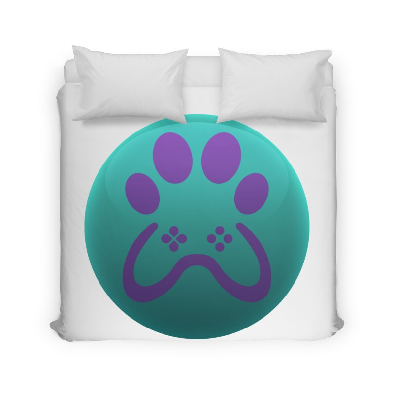 Controller Paw Logo Home Duvet by Respawnd Event's Merch Store