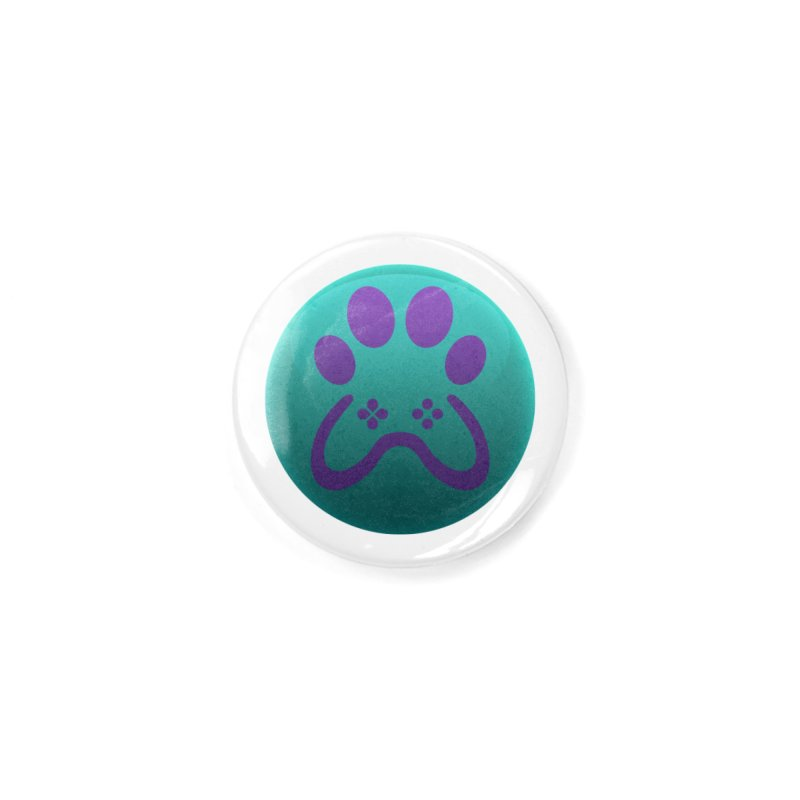 Controller Paw Logo Accessories Button by Respawnd Event's Merch Store