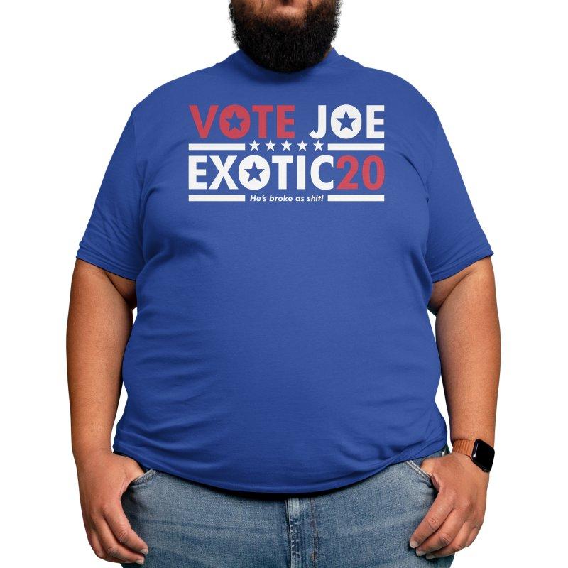Vote Joe Exotic Men's T-Shirt by RetroReview's Artist Shop