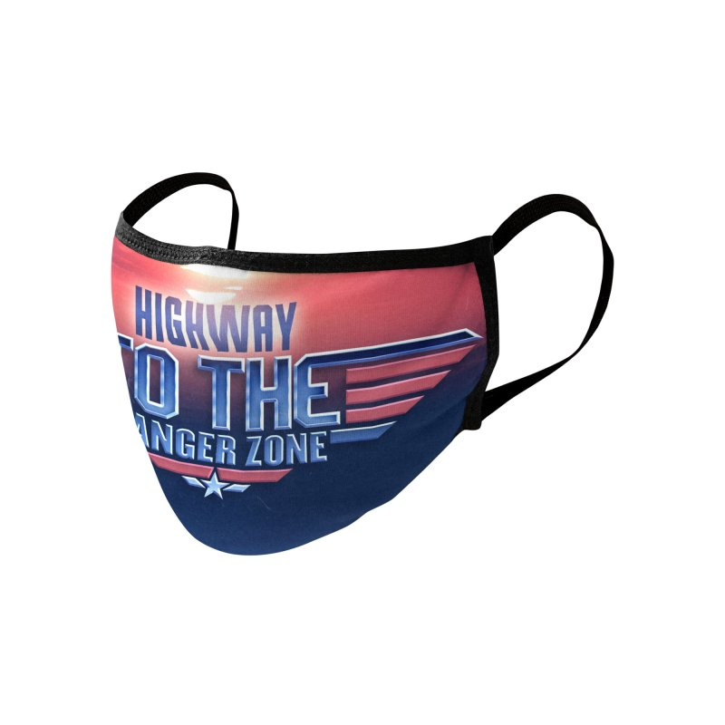 Highway to the Danger Zone Face Mask Accessories Face Mask by RetroReview's Artist Shop