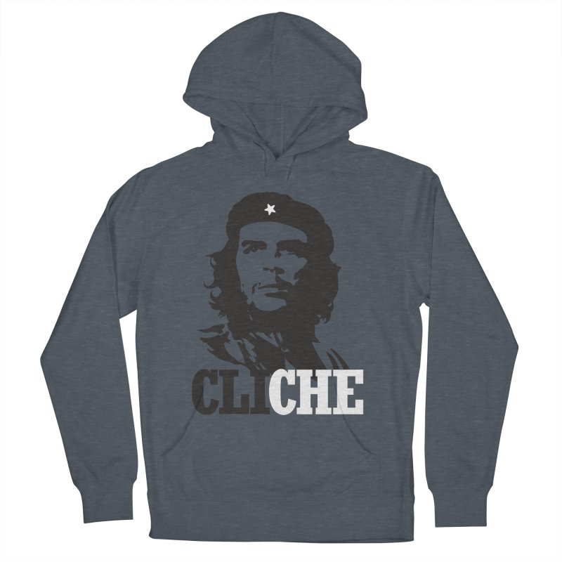 Cliche Women's French Terry Pullover Hoody by retrorocket's Artist Shop