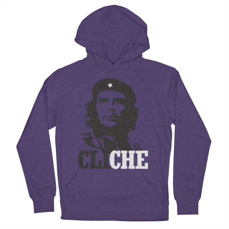 Cliche Men's French Terry Pullover Hoody by retrorocket's Artist Shop