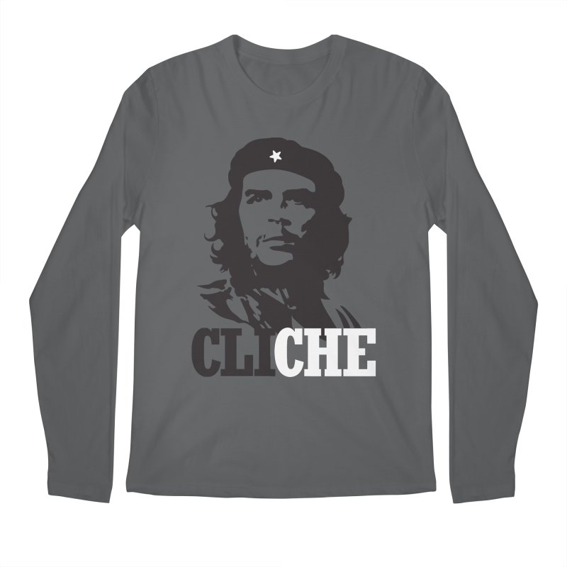Cliche Men's Longsleeve T-Shirt by retrorocket's Artist Shop