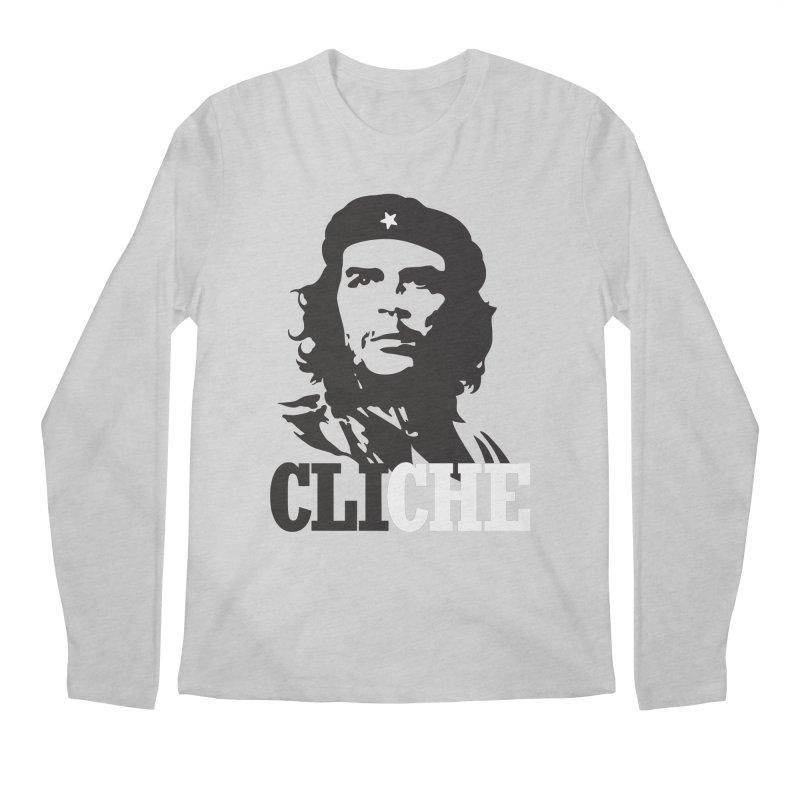 Cliche Men's Regular Longsleeve T-Shirt by retrorocket's Artist Shop