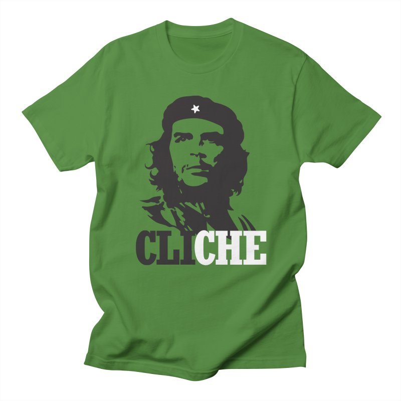 Cliche Women's Regular Unisex T-Shirt by retrorocket's Artist Shop