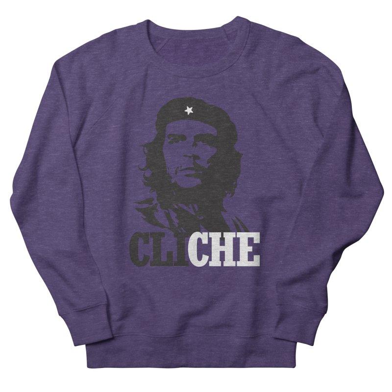 Cliche Women's French Terry Sweatshirt by retrorocket's Artist Shop