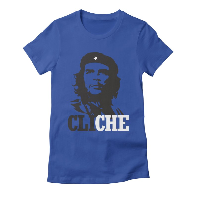Cliche Women's Fitted T-Shirt by retrorocket's Artist Shop