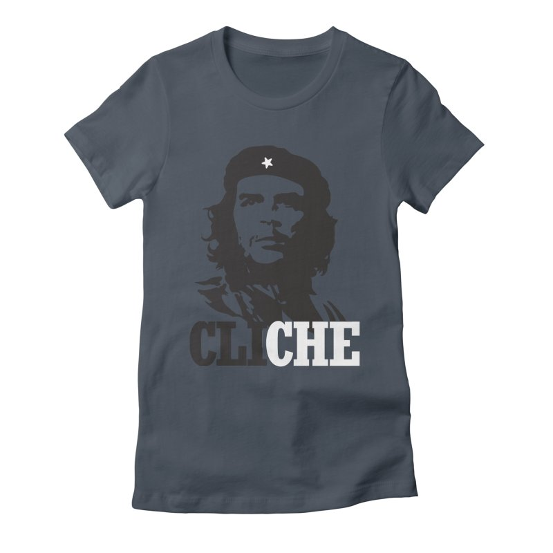 Cliche Women's Fitted T-Shirt by retrorocket's Artist Shop