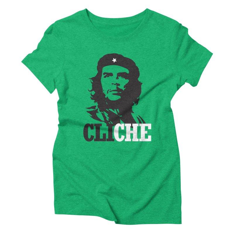 Cliche Women's Triblend T-shirt by retrorocket's Artist Shop