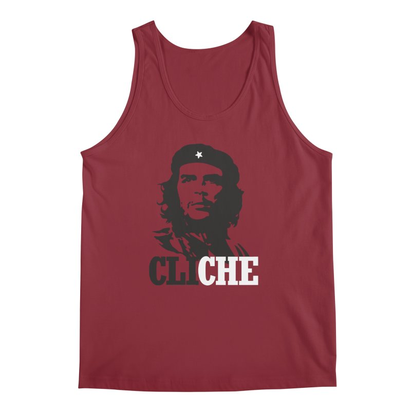 Cliche Men's Tank by retrorocket's Artist Shop