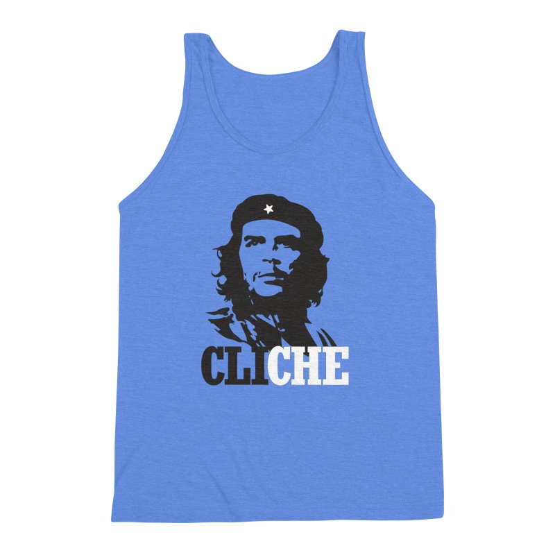 Cliche Men's Triblend Tank by retrorocket's Artist Shop