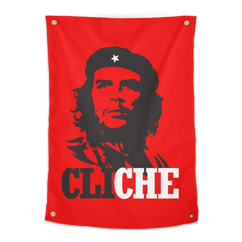 Cliche Home Tapestry by retrorocket's Artist Shop