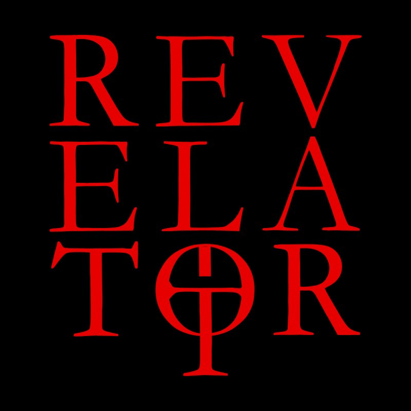 Red Logo Tee by Revelator Merch Shop