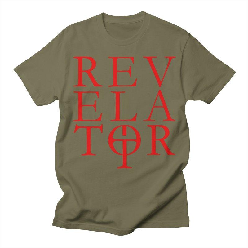 Red Logo Tee Men's T-Shirt by Revelator Merch Shop
