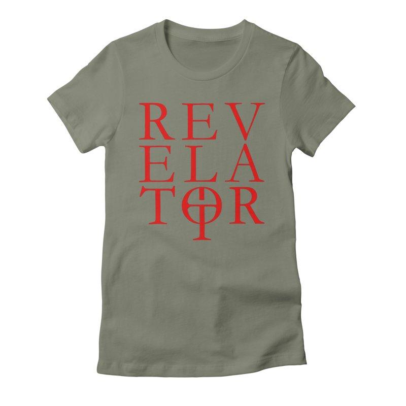 Red Logo Tee Women's T-Shirt by Revelator Merch Shop