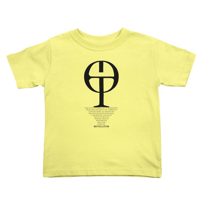 Revelator Symbol Tee Kids Toddler T-Shirt by Revelator Merch Shop