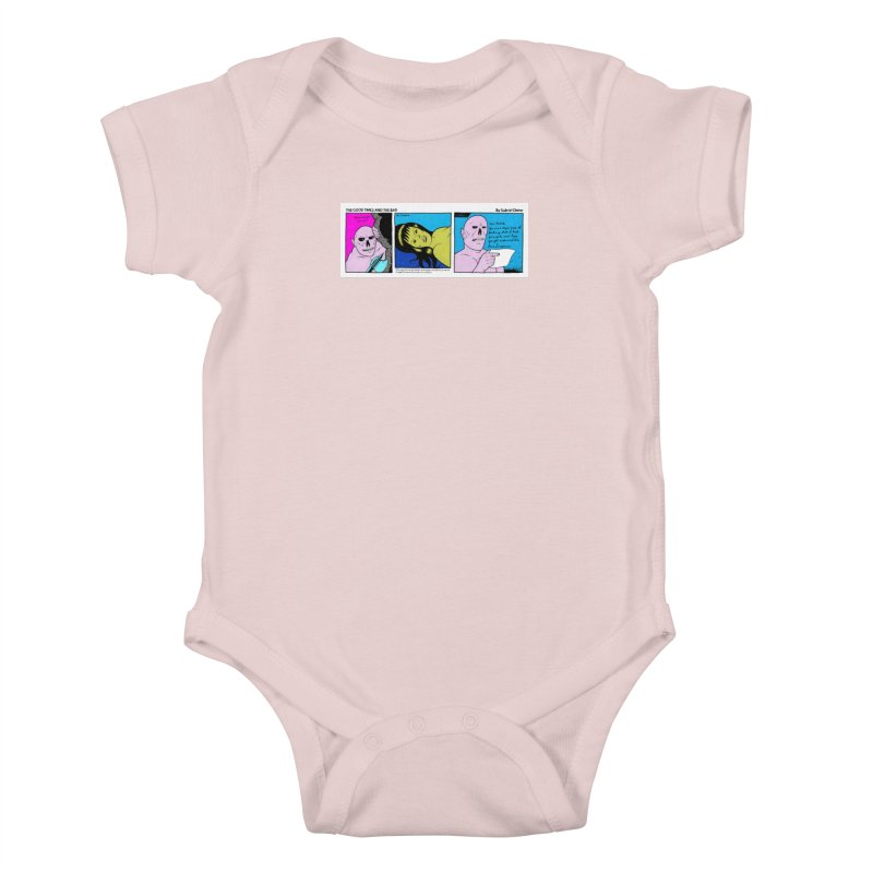 THE GOOD TIMES AND THE BAD Kids Baby Bodysuit by Gabriel Dieter's Artist Shop