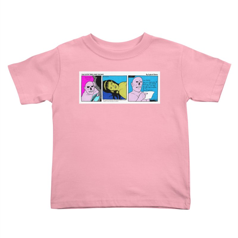 THE GOOD TIMES AND THE BAD Kids Toddler T-Shirt by Gabriel Dieter's Artist Shop