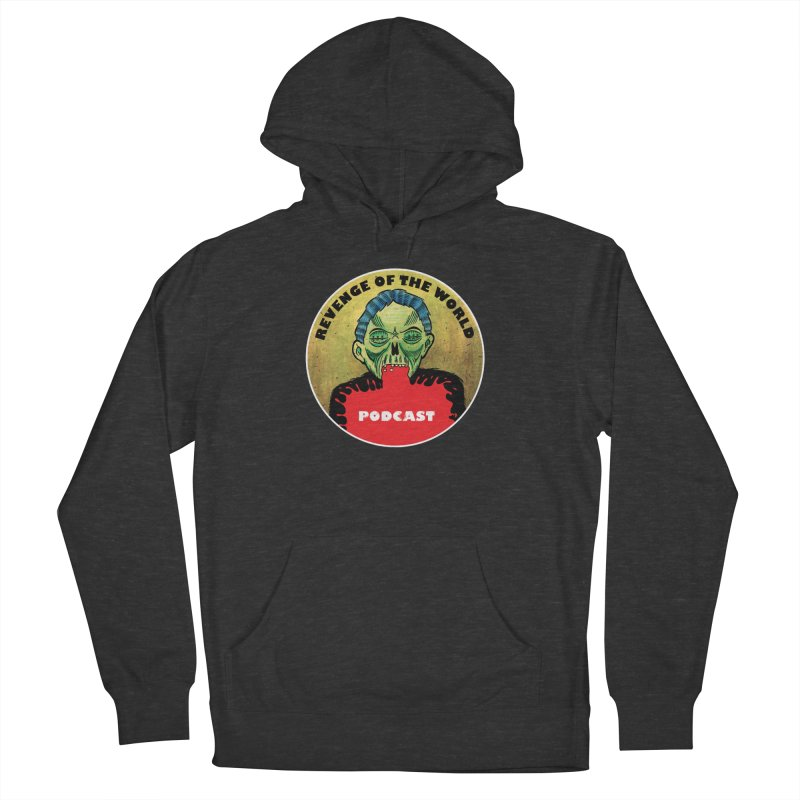 ROTW Podcast Women's French Terry Pullover Hoody by Gabriel Dieter's Artist Shop