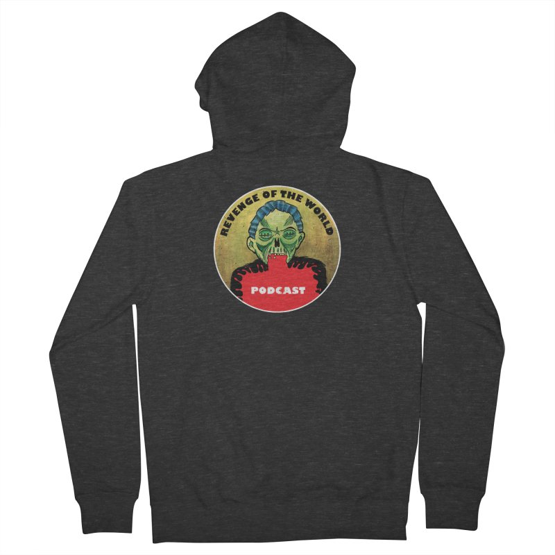 ROTW Podcast Women's French Terry Zip-Up Hoody by Gabriel Dieter's Artist Shop