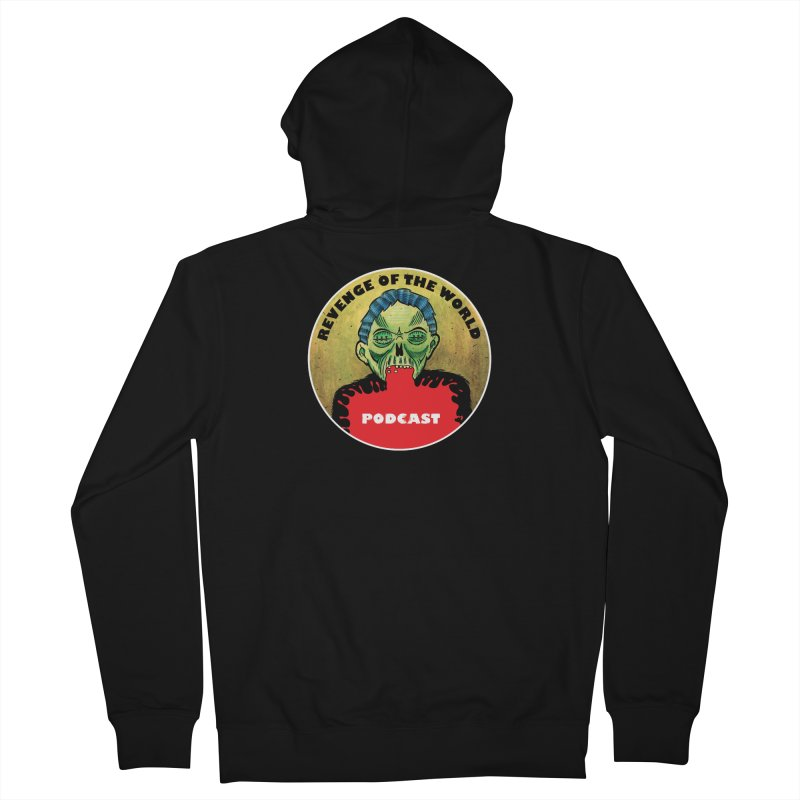 ROTW Podcast Men's French Terry Zip-Up Hoody by Gabriel Dieter's Artist Shop