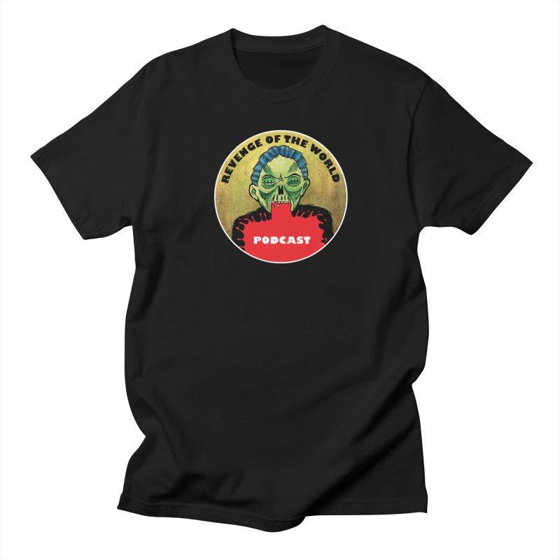 ROTW Podcast Women's Regular Unisex T-Shirt by Gabriel Dieter's Artist Shop