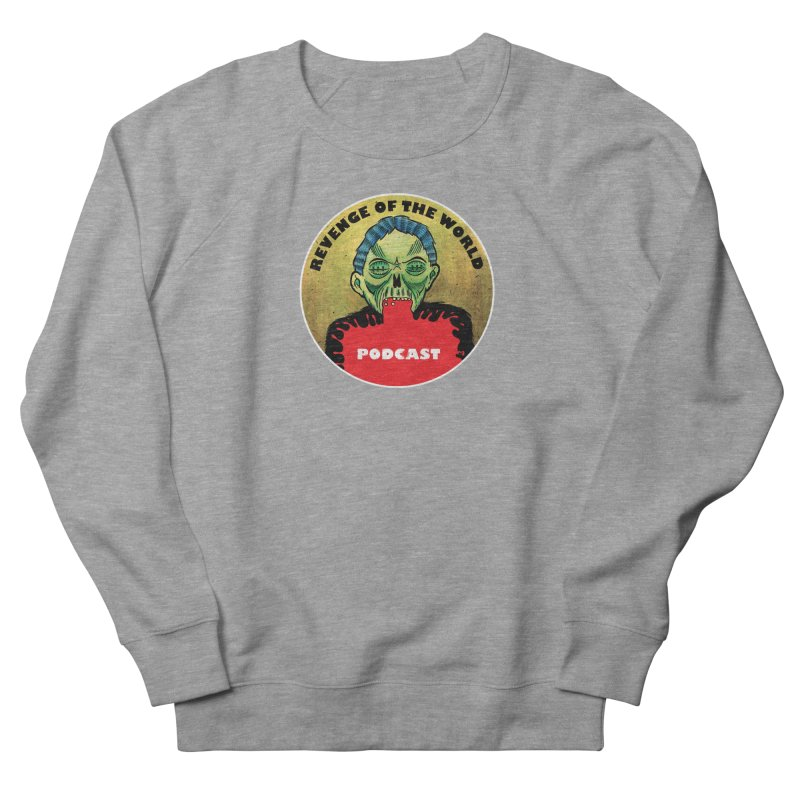 ROTW Podcast Men's French Terry Sweatshirt by Gabriel Dieter's Artist Shop