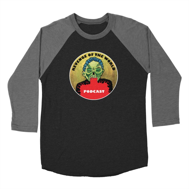 ROTW Podcast Men's Baseball Triblend Longsleeve T-Shirt by Gabriel Dieter's Artist Shop