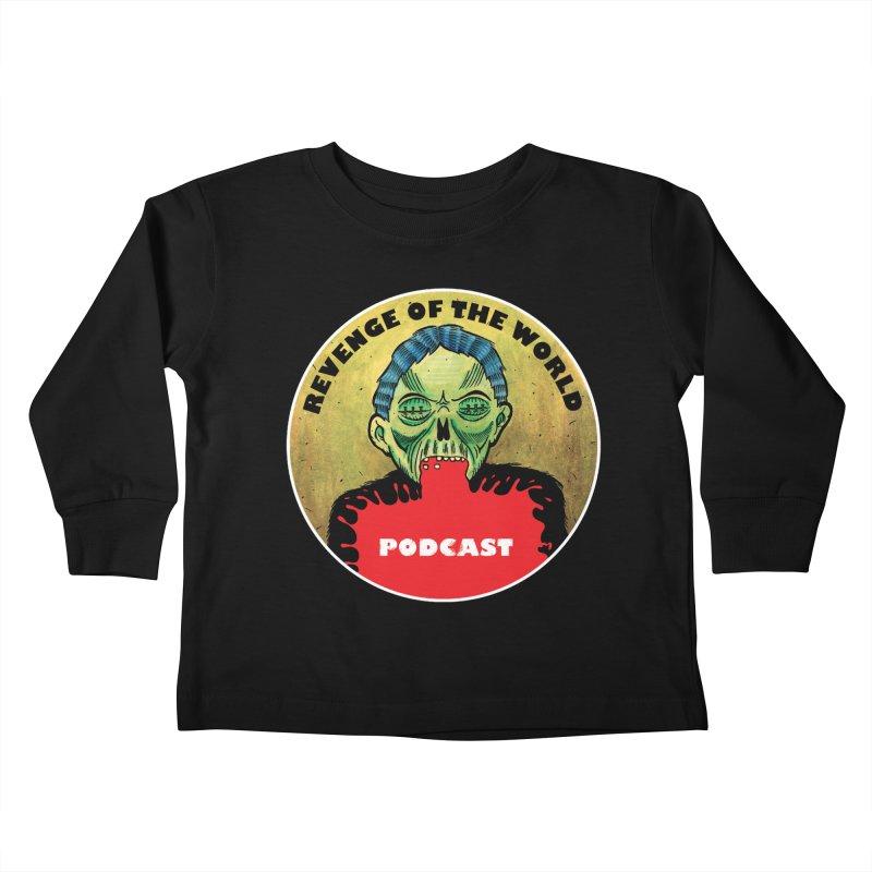 ROTW Podcast Kids Toddler Longsleeve T-Shirt by Gabriel Dieter's Artist Shop