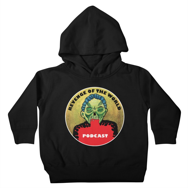 ROTW Podcast Kids Toddler Pullover Hoody by Gabriel Dieter's Artist Shop