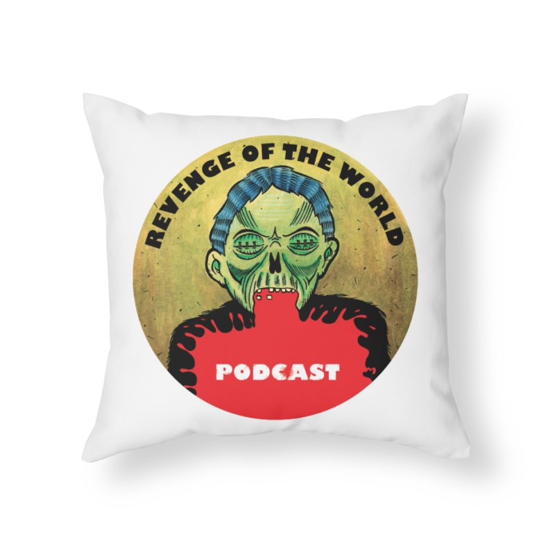 ROTW Podcast Home Throw Pillow by Gabriel Dieter's Artist Shop