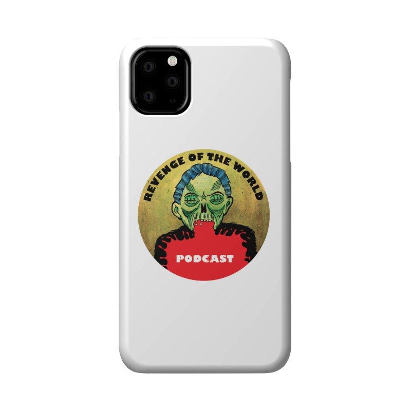 ROTW Podcast Accessories Phone Case by Gabriel Dieter's Artist Shop