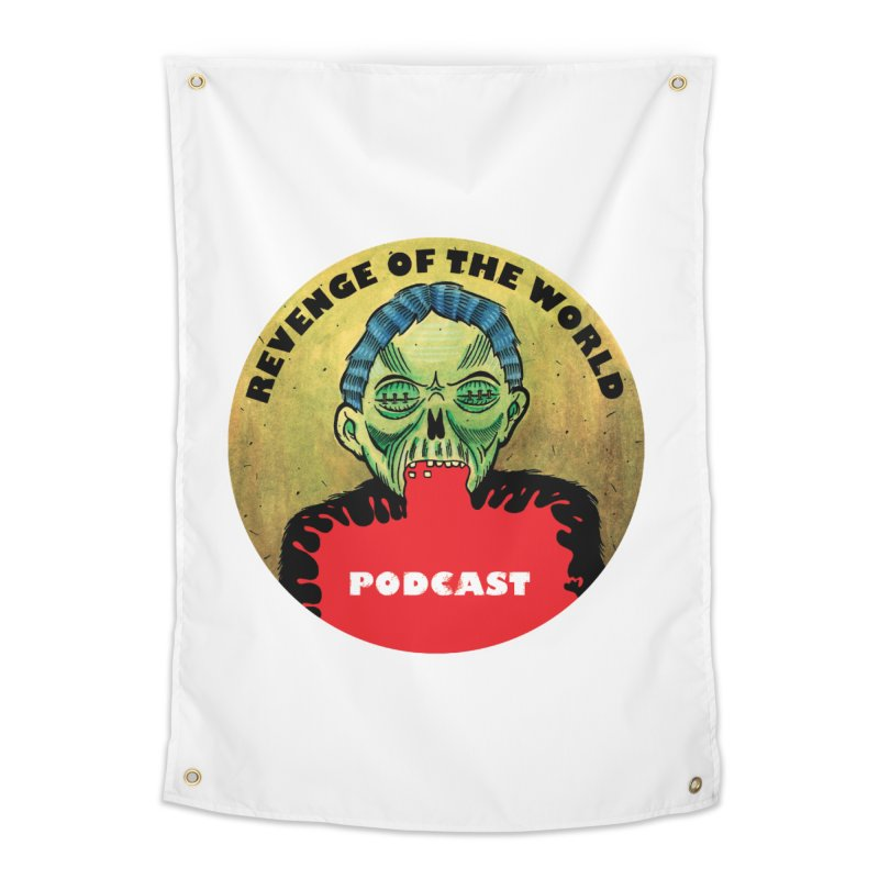 ROTW Podcast Home Tapestry by Gabriel Dieter's Artist Shop