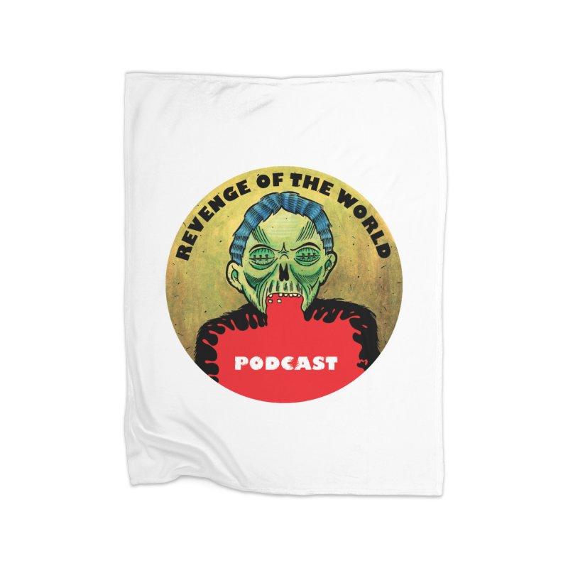 ROTW Podcast Home Fleece Blanket Blanket by Gabriel Dieter's Artist Shop
