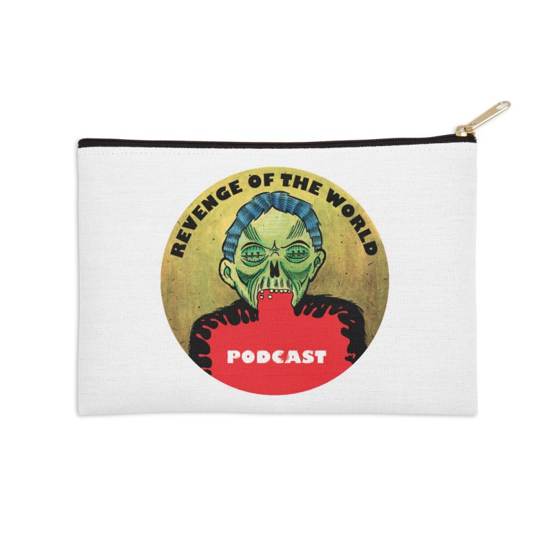 ROTW Podcast Accessories Zip Pouch by Gabriel Dieter's Artist Shop