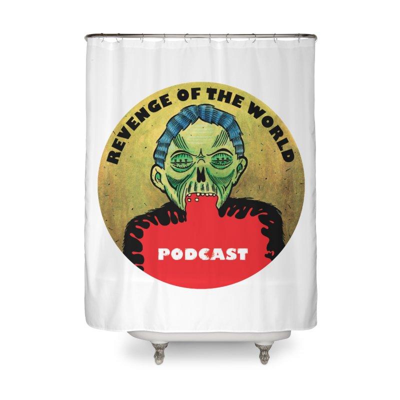 ROTW Podcast Home Shower Curtain by Gabriel Dieter's Artist Shop