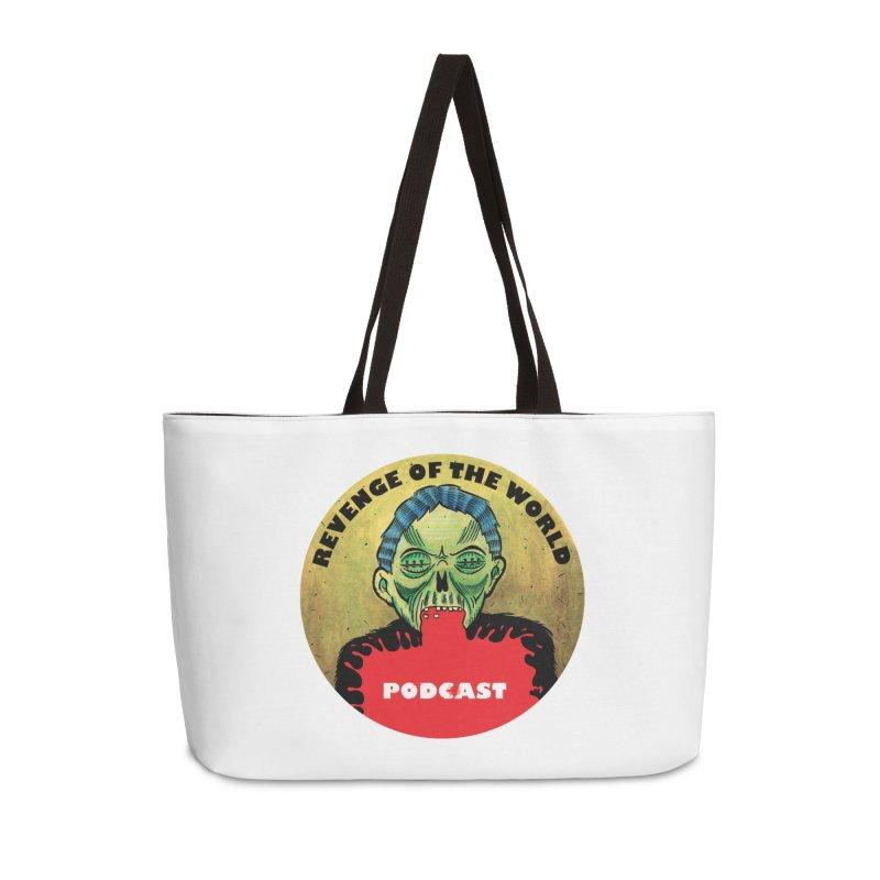 ROTW Podcast Accessories Weekender Bag Bag by Gabriel Dieter's Artist Shop