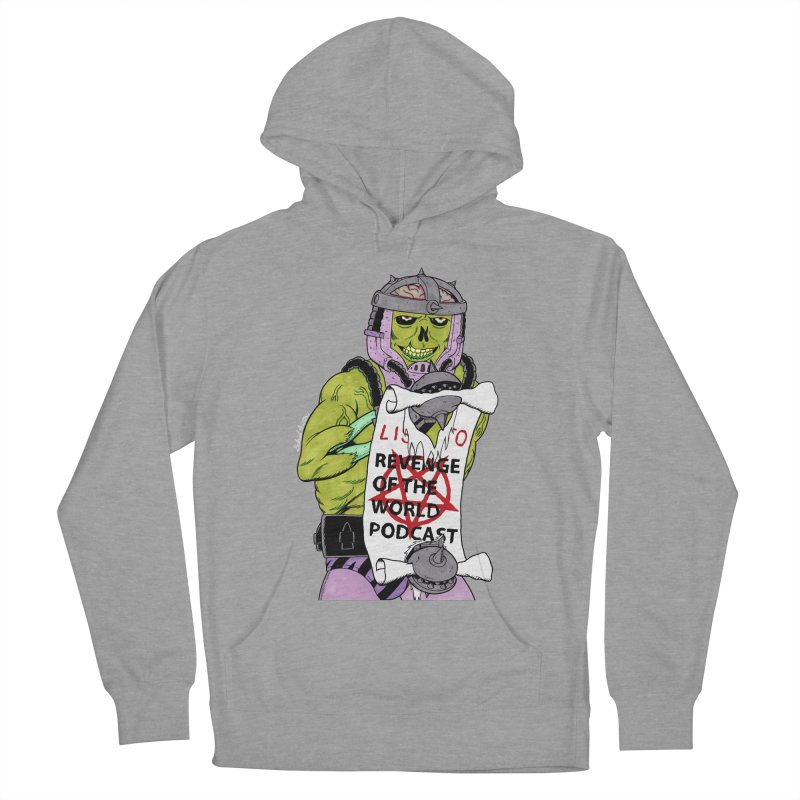 ROTW Summons Men's French Terry Pullover Hoody by Gabriel Dieter's Artist Shop