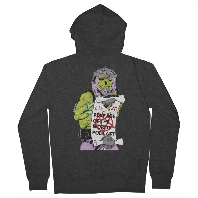 ROTW Summons Women's French Terry Zip-Up Hoody by Gabriel Dieter's Artist Shop