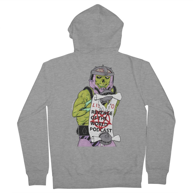 ROTW Summons Men's French Terry Zip-Up Hoody by Gabriel Dieter's Artist Shop