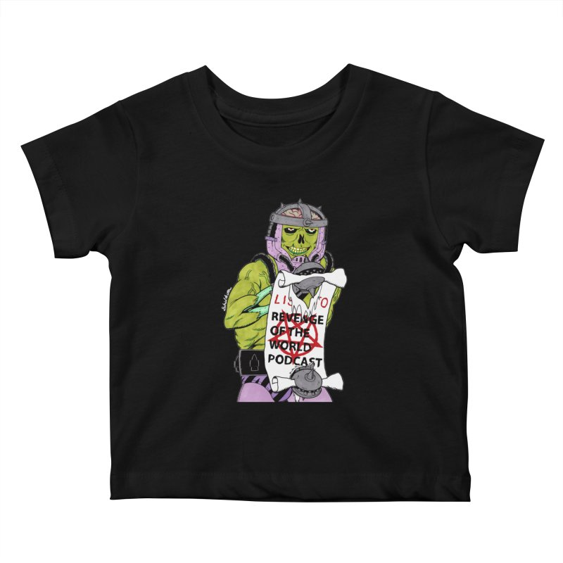 ROTW Summons Kids Baby T-Shirt by Gabriel Dieter's Artist Shop