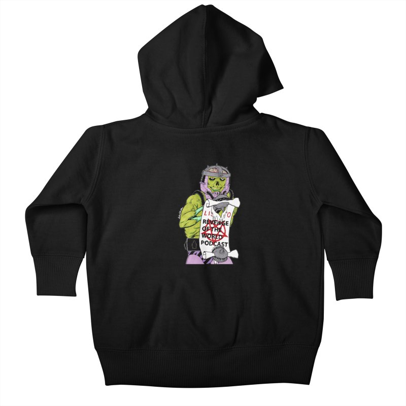 ROTW Summons Kids Baby Zip-Up Hoody by Gabriel Dieter's Artist Shop
