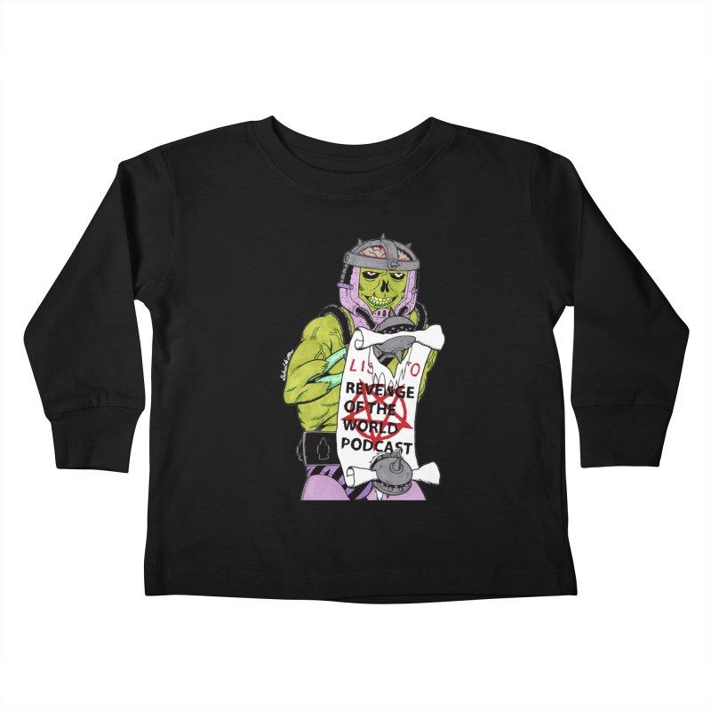 ROTW Summons Kids Toddler Longsleeve T-Shirt by Gabriel Dieter's Artist Shop