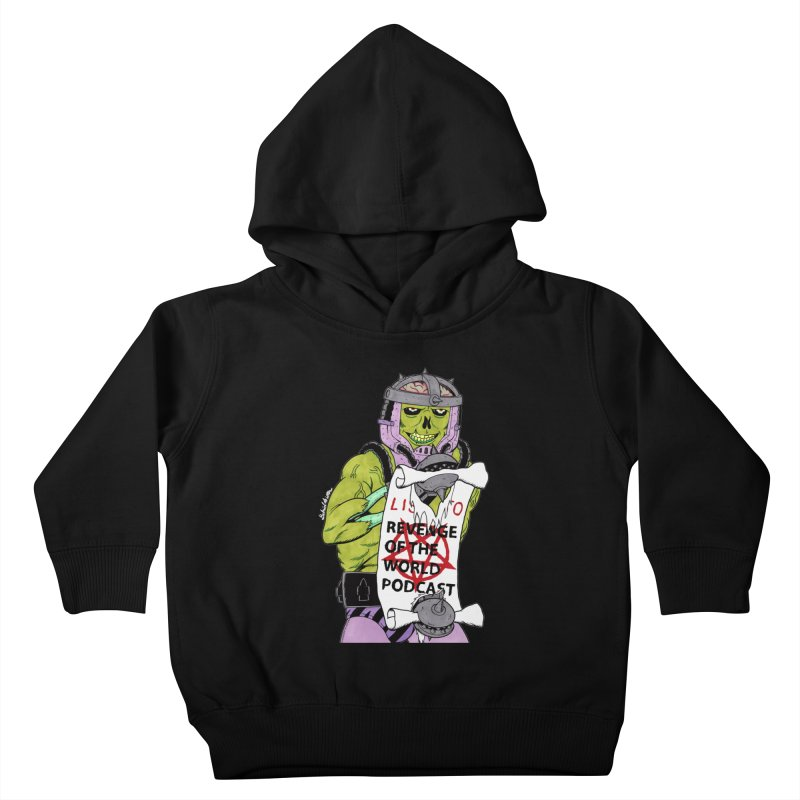 ROTW Summons Kids Toddler Pullover Hoody by Gabriel Dieter's Artist Shop