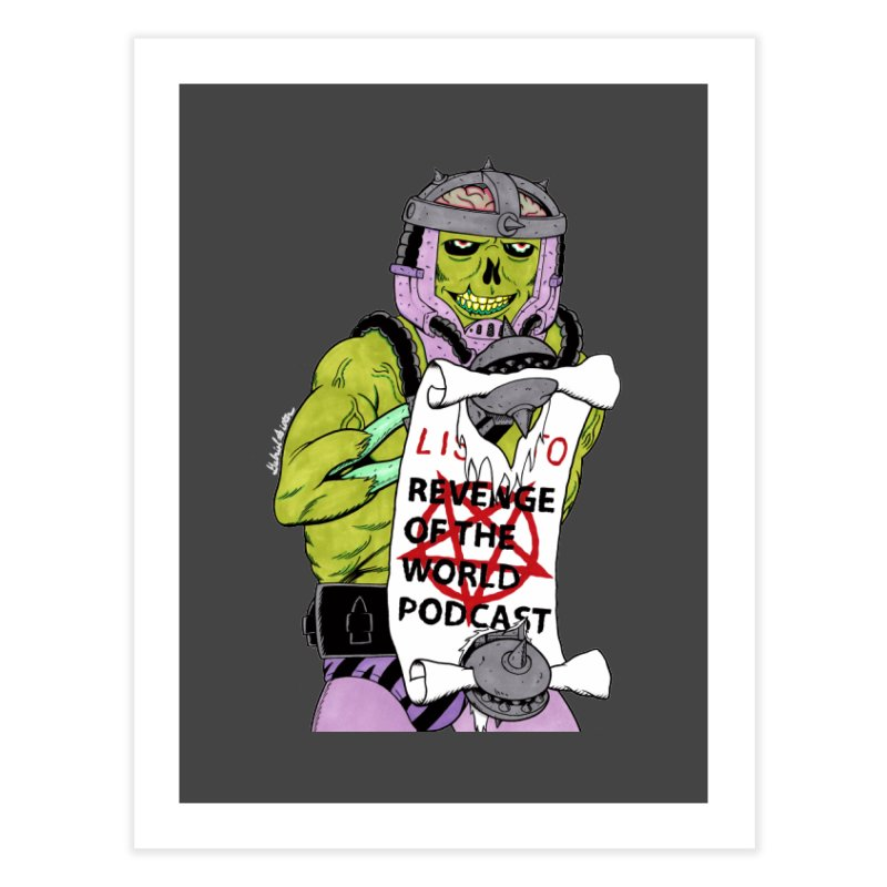ROTW Summons Home Fine Art Print by Gabriel Dieter's Artist Shop