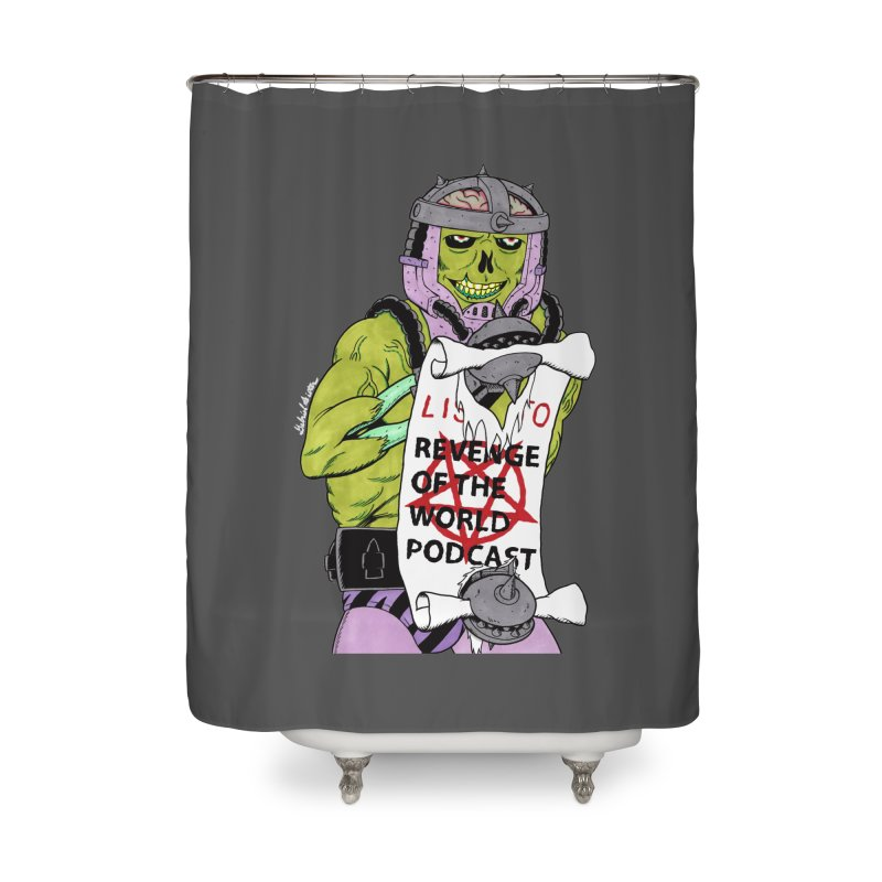ROTW Summons Home Shower Curtain by Gabriel Dieter's Artist Shop