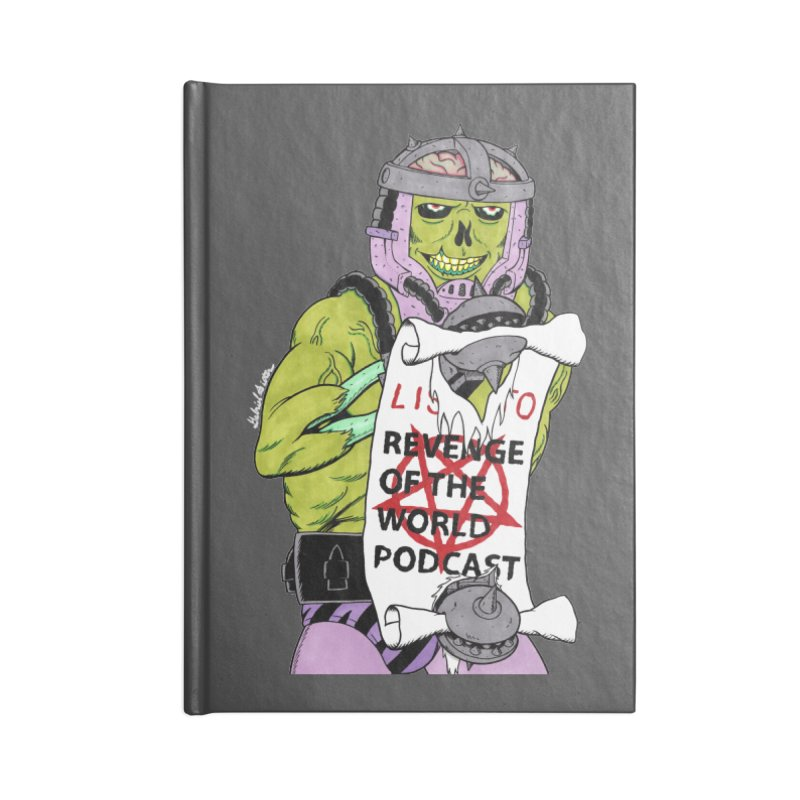 ROTW Summons Accessories Lined Journal Notebook by Gabriel Dieter's Artist Shop