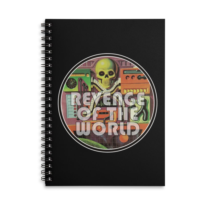 ROTW Console Accessories Lined Spiral Notebook by Gabriel Dieter's Artist Shop