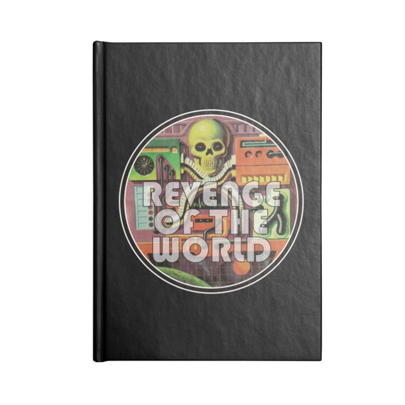 ROTW Console Accessories Lined Journal Notebook by Gabriel Dieter's Artist Shop